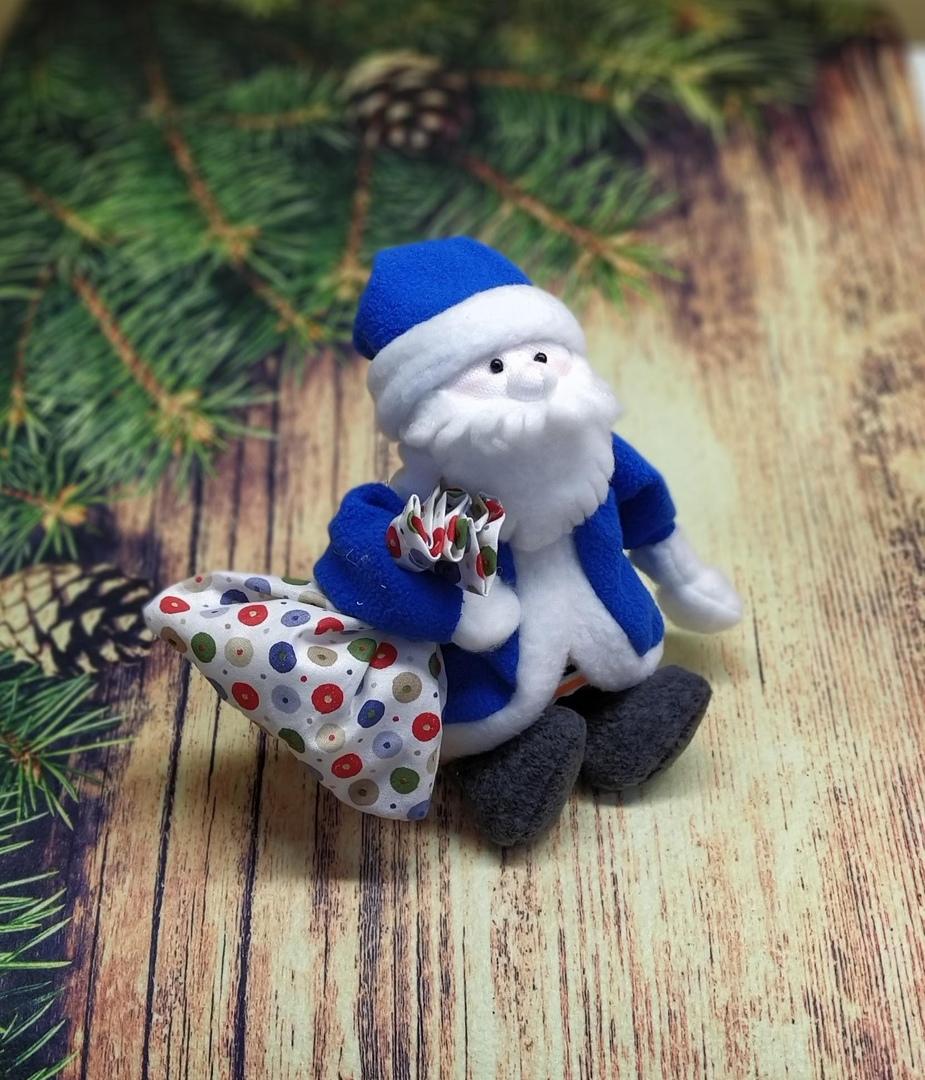 Дедушка Мороз (синий костюм)