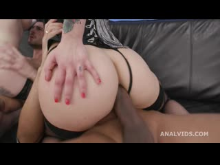 Anna de Ville and Silvia Soprano, 2on2 Balls Deep Anal GIO1685 ( deep throat, double anal (DAP), gapes, piss drinking, prolapse)