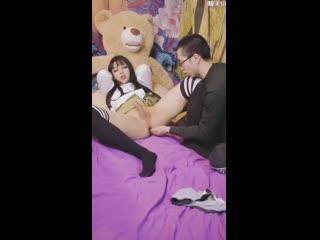 ACSF amateur asian cute sissy fuck