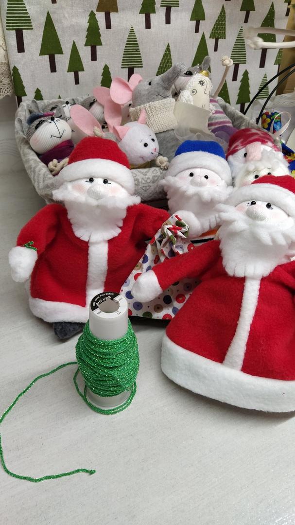 Дед Мороз (красный костюм)