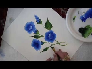 How to Paint a Morning Glory | Donna Dewberry (2018)