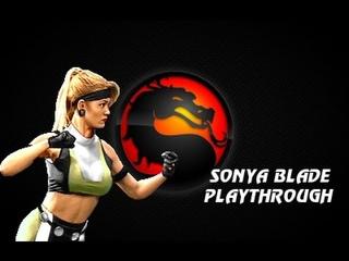 MKP 4.1 Season 2 (MUGEN) - Sonya (Interpreter's Edit) Playthrough
