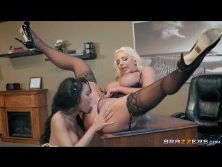 Nicolette Shea & Shay Evans (Ms. Nicolette's Academy For Exceptional Women)[2018,Latina,Lesbian,Sex Toys,Squirt,1080p]