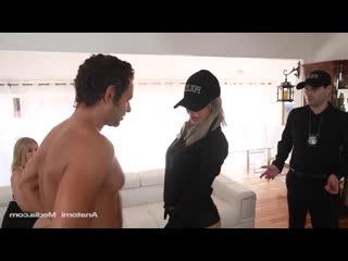 Nina Elle - Cuckold Cops порно трах ебля секс инцест porn Milf home шлюха домашнее sex минет измена