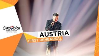 Vincent Bueno - Amen - First Rehearsal - Austria 🇦🇹 - Eurovision 2021