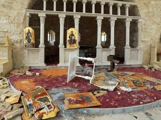 The destruction of Greek-Cypriot Churches by Turks