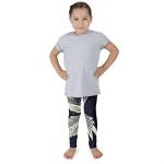 Blue Leaf - - Kid's leggings
