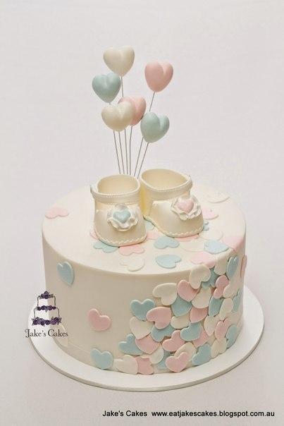 Идеи тортов в честь рождения ребенка