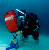 Курс PADI Search and Recovery Diver