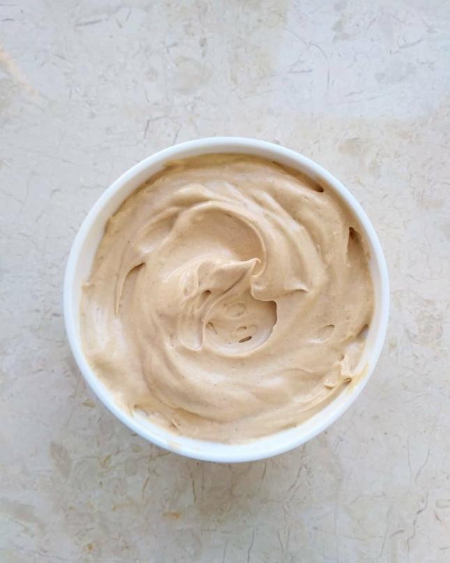 Шелковый кофейный крем.