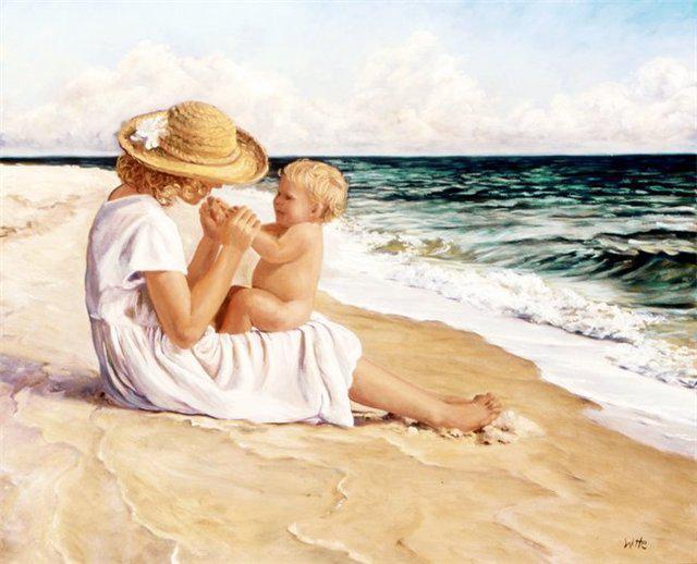 Самые нежные в мире — руки у матерей.