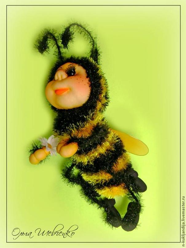 """Создание игрушки """"Пчёлка"""". Мягкая игрушка"""