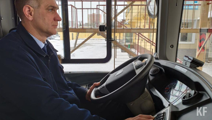 В казанских автобусах установили систему распознавания усталости водителя