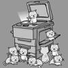 Офисная жизнь, принтеры и картриджи