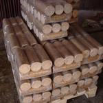 Нильсен в форме цилиндра (лиственные) брикеты топливные