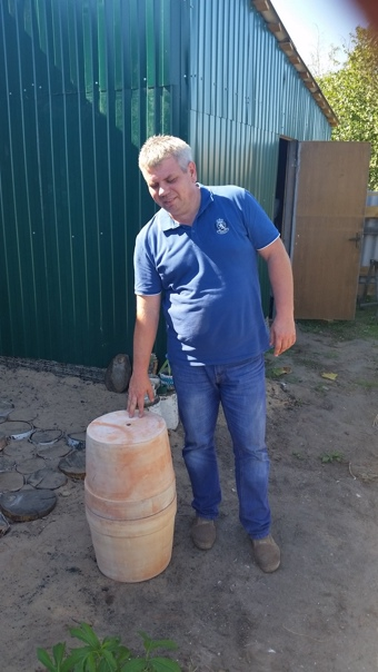 Мой самодельный тандыр) Цена вопроса 1600 рублей.