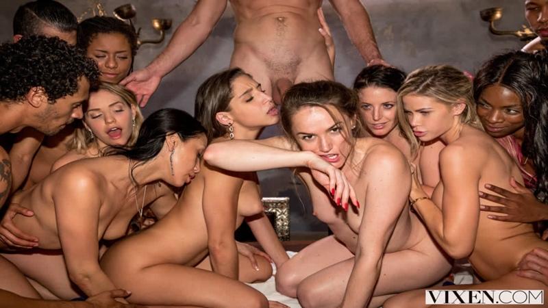 Tori Black, Mia Malkova, Vicki Chase, Kira Noir, Ana Foxxx, Abella Danger,