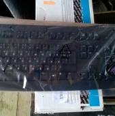 Клавиатура Logitech Deluxe 250 Black PS/2 (новая)