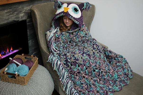 Совиное одеяло