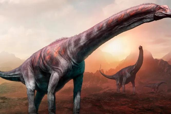 Останки динозавра, найденного в Аргентине, могут принадлежать самому крупному животному Земли