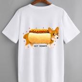 футболка хотдог
