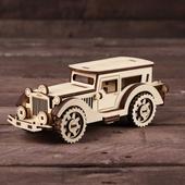 Конструктор Ретро Автомобиль (сборная деревянная модель)