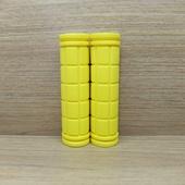 Грипсы (ручки) цветные универсальные. (1пара) Желтые