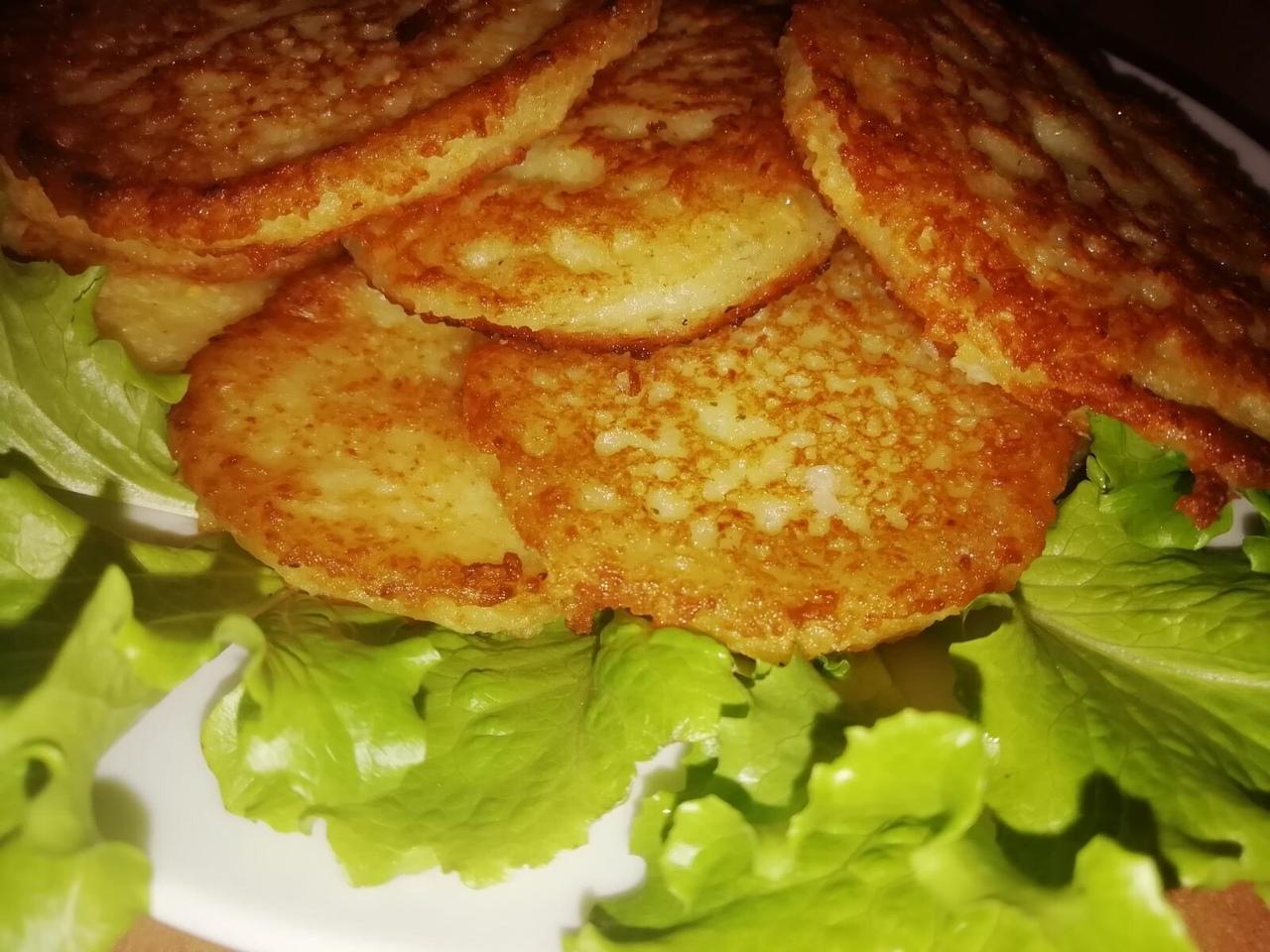 Картофельные лепешки - готовить быстро и просто, а получаются вкусными и сытными...