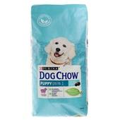 Dog Chow для щенков с ягненком 14кг