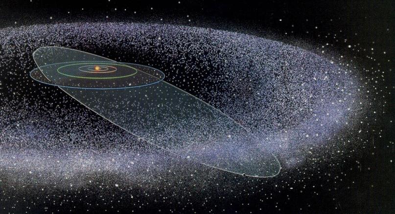 Облако Оорта - остаток протосолнечной туманности, давшей жизнь планетам и Солнцу...