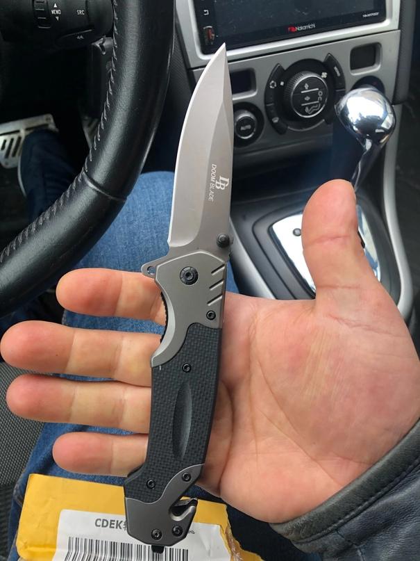 Недорогой нож от бренда DoomBlade