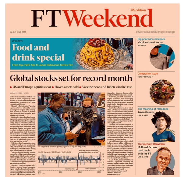 Financial Times Weekend USA - November 2829  2020 UserUpload.Net