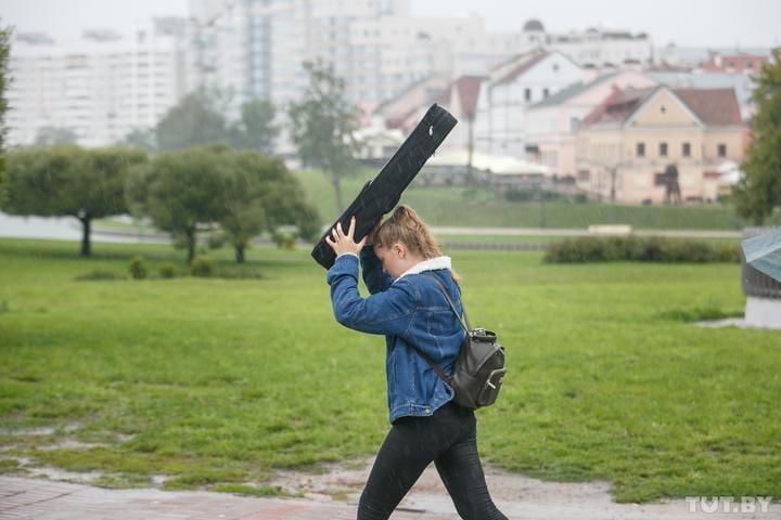 На 2 мая в Беларуси объявили оранжевый уровень опасности