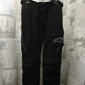 (О1112)Мотоштаны текстиль Alpinestars (Италия), р-р M/L