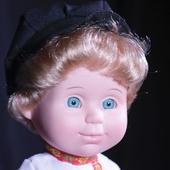 Кукла Митя в русском костюме со звуковым устройством