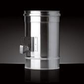 Шибер CRAFT (ф115 / 0,8 мм / AISI 310)