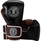Боксерские перчатки Hardcore Training HardLea Black/Brown