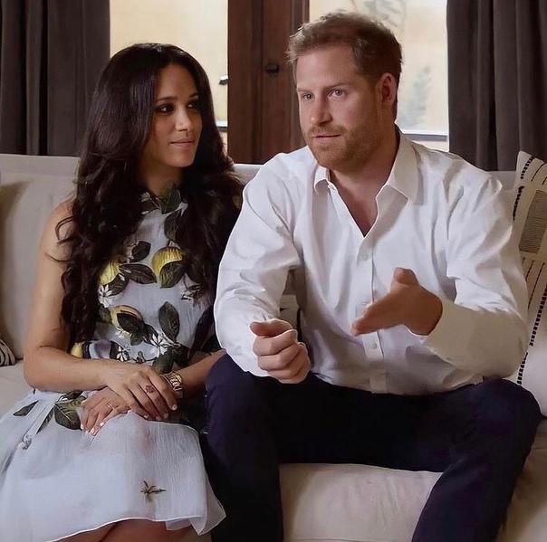 Принц Гарри и Меган Маркл впервые появились в эфире после объявления о беременности
