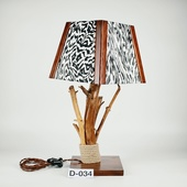 Авторский деревянный светильник DIMATI, Арт: D-034