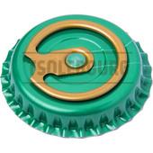 Кронен пробки с кольцом TSOLEBOURG 26 мм, 100 шт, ЗЕЛЕНЫЙ