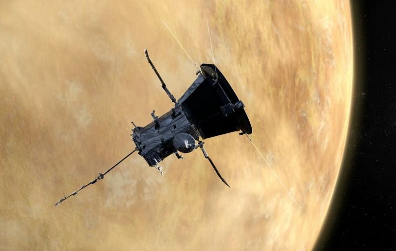 Зонд «Паркер» сфотографировал околосолнечное пылевое кольцо вблизи Венеры