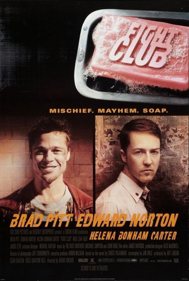 "🆕""БОЙЦОВСКИЙ КЛУБ"" Fight Club (1999) Перевод: Дубляж. Страна: США,Германия. Жанр..."