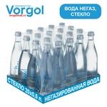 Упаковка природной воды Vorgol. Негаз. Стекло. 500 мл