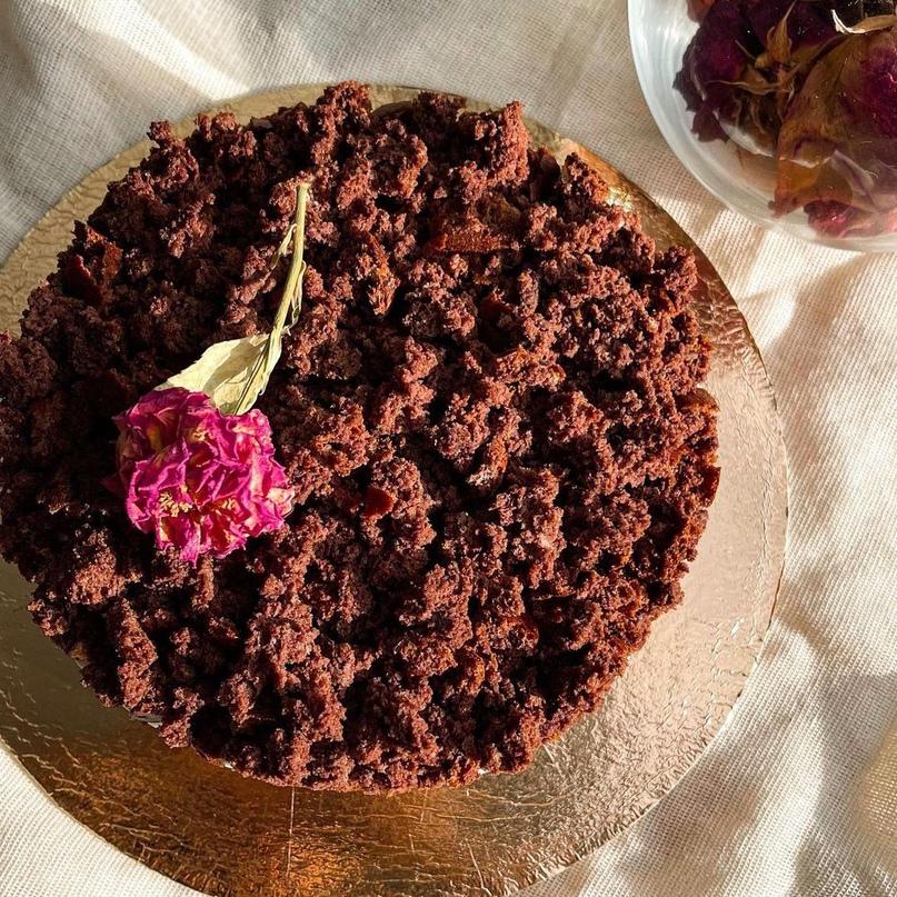 Торт с шоколадной крошкой 😋