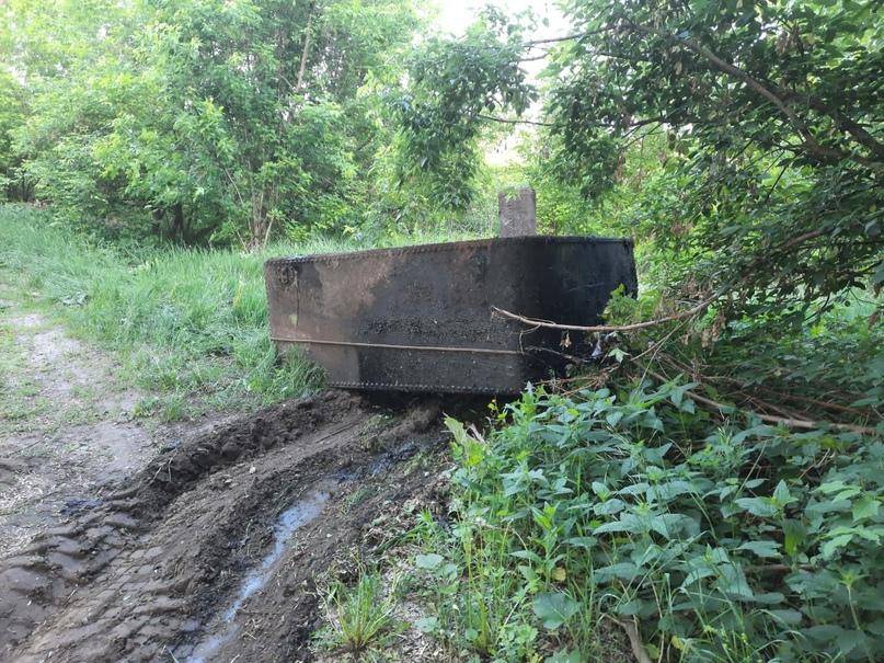 Житель области, что разлил нефтепродукты в реку Барыш, получил штраф