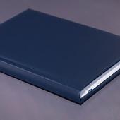 Ежедневник недатированный A5 синий
