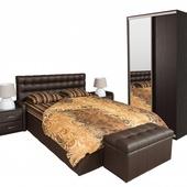 Спальня БЕАТРИС шоколад