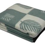 Одеяло 170х210 п/ш Лист бел.-олива
