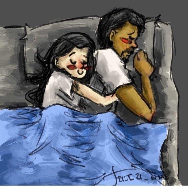 """""""Любовь должна заряжать""""  В повседневной жизни пары много милых..."""