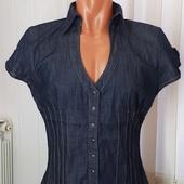 (0895)Жилетка джинс Xanaka (Франция), размер М